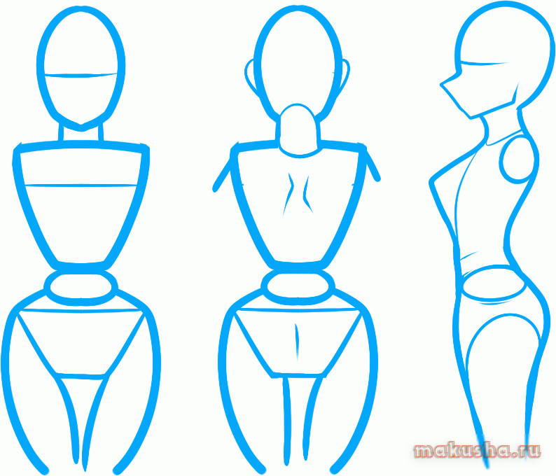 Learn how to draw Manga Comics woman body girl or female