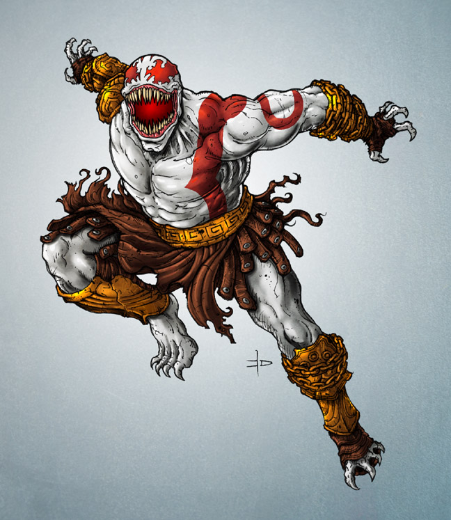 Kratos_Venom_by_edcomics